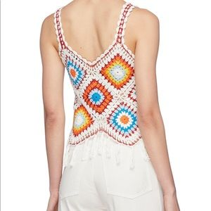 Alice and Olivia knot Tank top: New size S